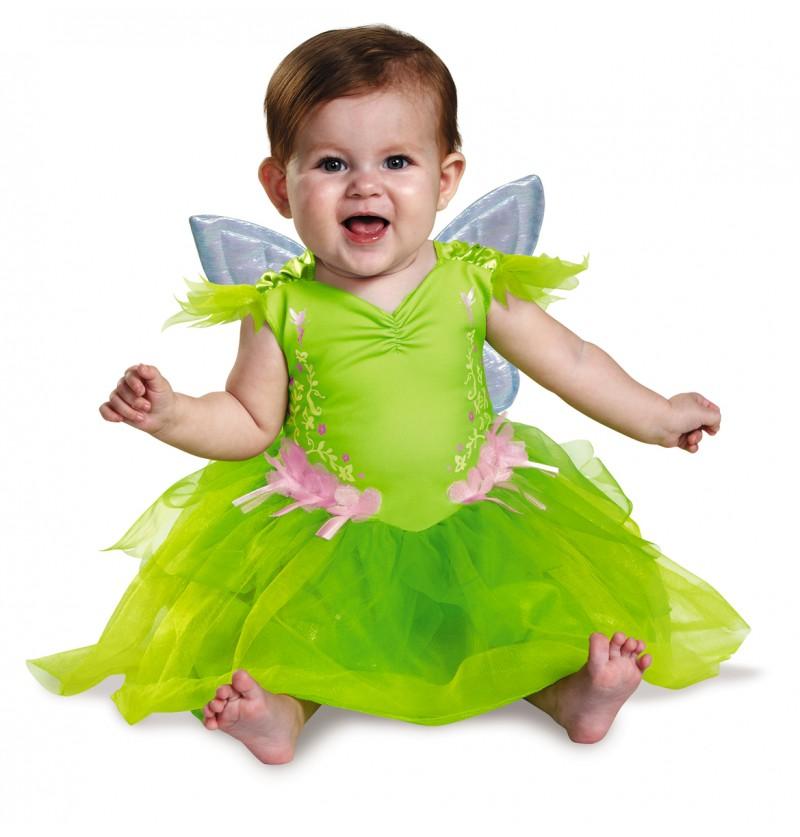 Disfraz de Campanilla deluxe para bebé