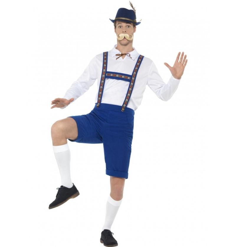 disfraz de bvaro azul oktoberfest para hombre