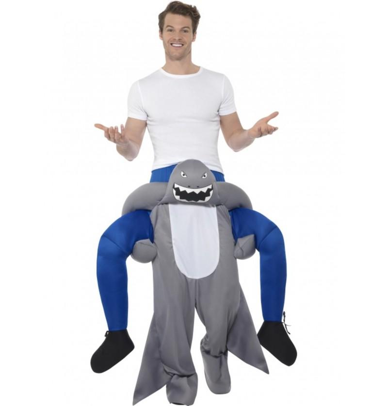 disfraz de tiburn ride on para adulto