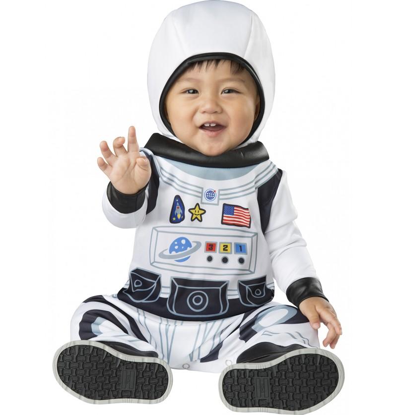 Disfraz de astronauta intrépido para bebé