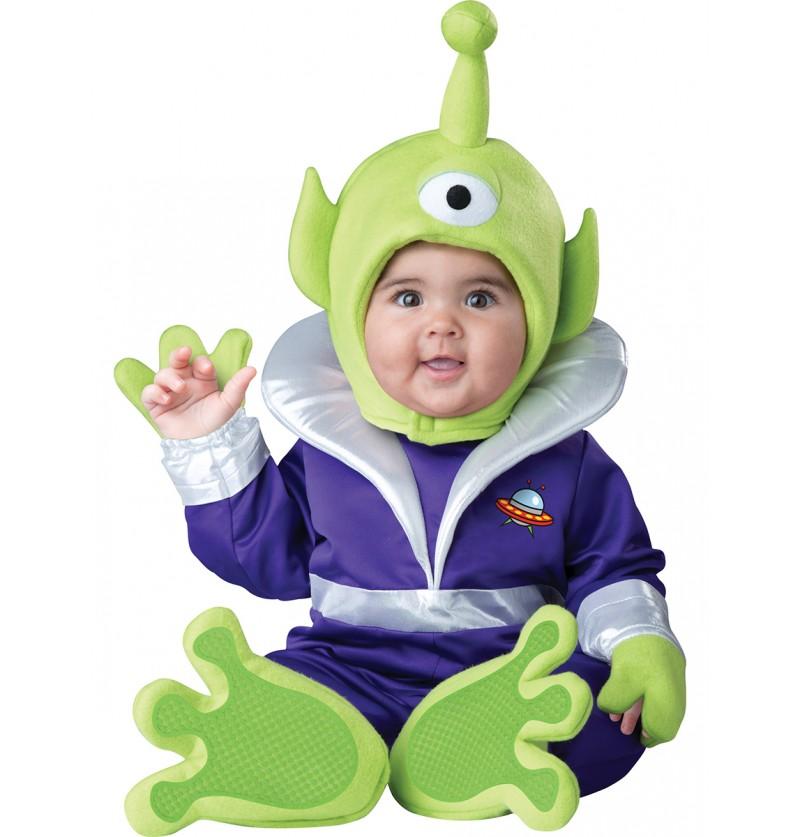 Disfraz de marciano de la galaxia para bebé