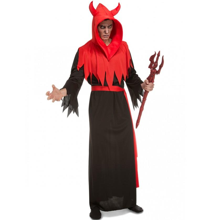 Disfraz de diablo aterrador para hombre