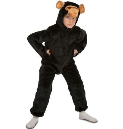 Disfraz de chimpancé peludo infantil