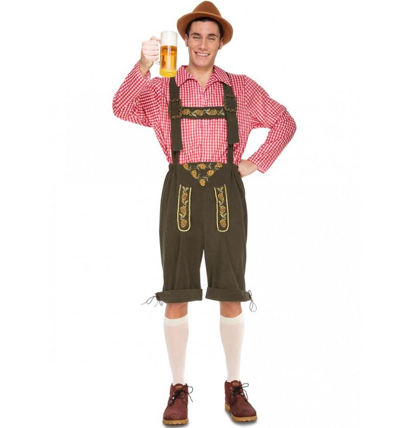 Disfraz de tirolés cervecero para hombre