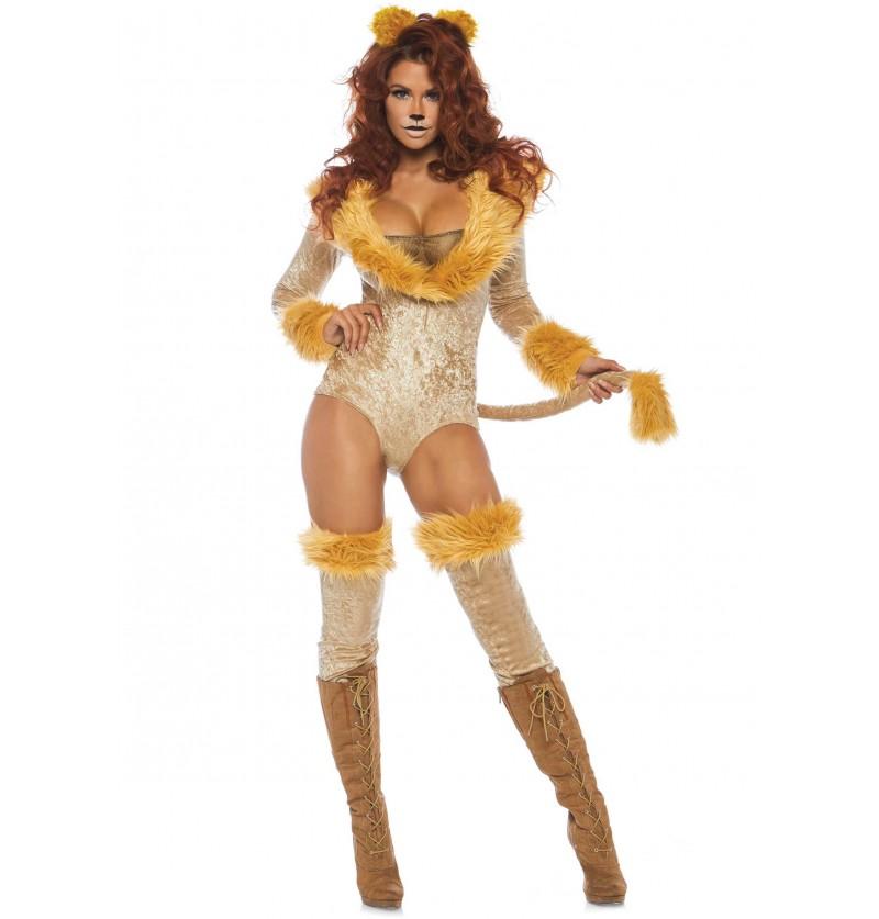 da7ce0f428ba Disfraz de león sexy para mujer