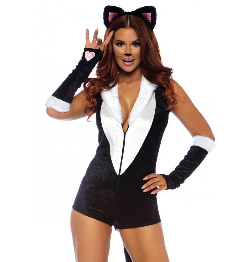 4deddc82d271 Disfraz de gato sexy para mujer