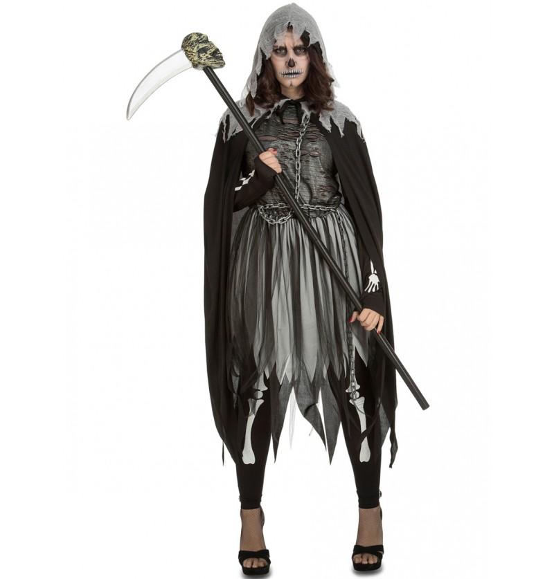 Disfraz de ejecutora fantasmal para mujer