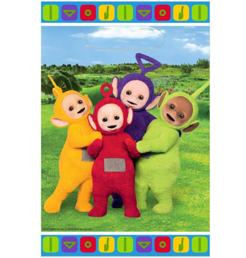 Set de 8 bolsas Teletubbies