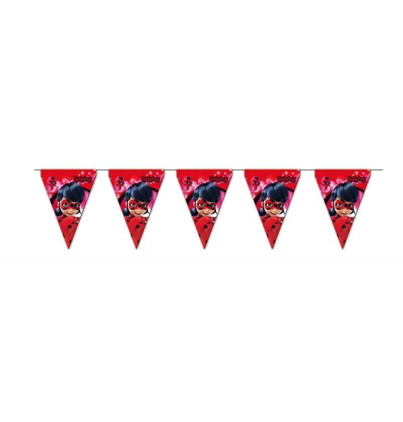 Banderines Las aventuras de Ladybug