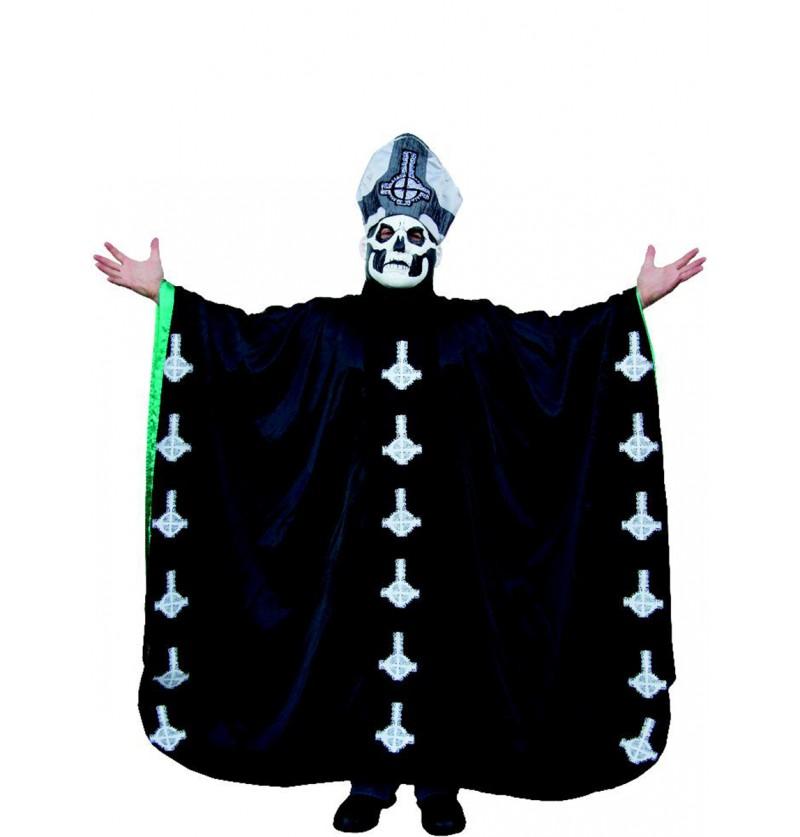 Disfraz de Papa Emeritus II Ghost para adulto