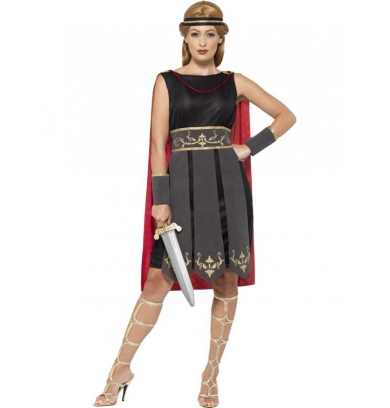 disfraz de luchadora romana para mujer