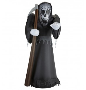 figura decorativa de muerte hinchable luminosa gigante