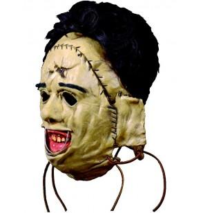 Máscara de Leatherface 1974 La Matanza de Texas de látex para adulto
