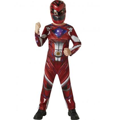 Disfraz de Power Ranger rojo Movie para niño