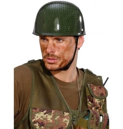 Casco de militar para adulto