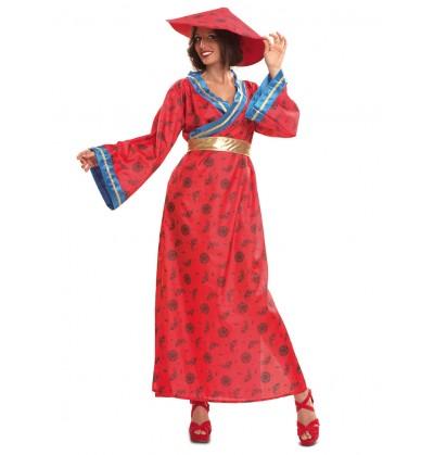 Disfraz de china mandarina para mujer