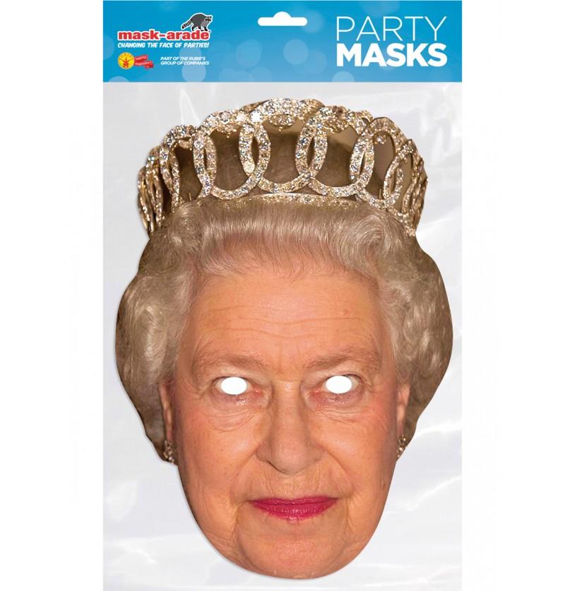 Careta de Reina Elisabeth para adulto