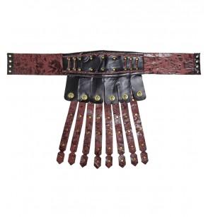 falda de gladiador romano para adulto