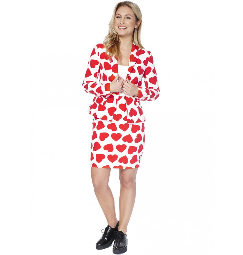 Traje Queen of Hearts Opposuit para mujer