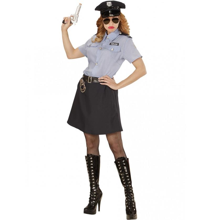 Disfraz de policía clásica para mujer