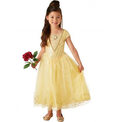 Disfraz de Bella La Bella y la Bestia Película deluxe para niña