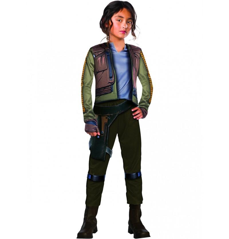 Disfraz de Jyn Erso Star Wars Rogue One para niña