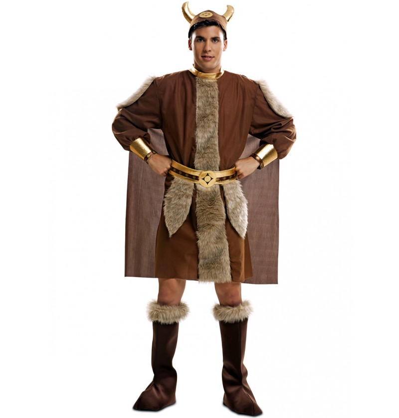 Disfraz de guerrero nórdico para hombre
