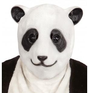 mscara de oso panda adorable para adulto